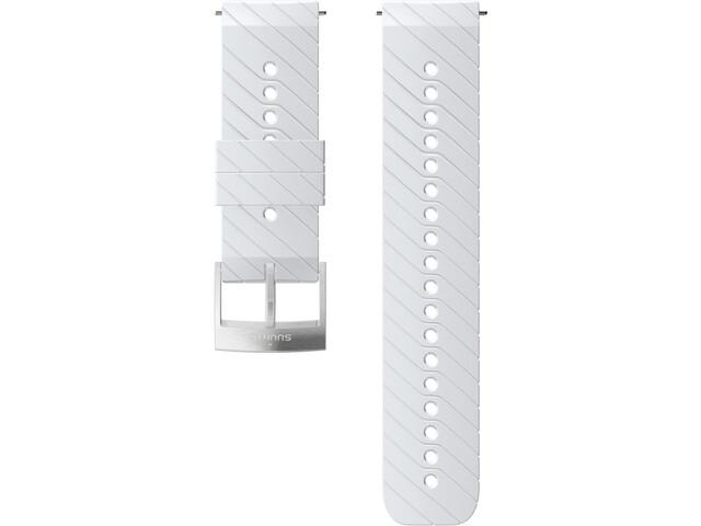 Suunto Athletic 3 Bracelet de montre en silicone, white/steel